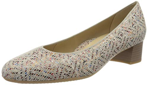 ara Damen VICENZA Pumps, Mehrfarbig (Multi 10), 37 EU(4 UK)