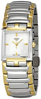 Tissot Women's T-Evocation's White Dial Color Steel Strap Watch - T051.310.22.031.00