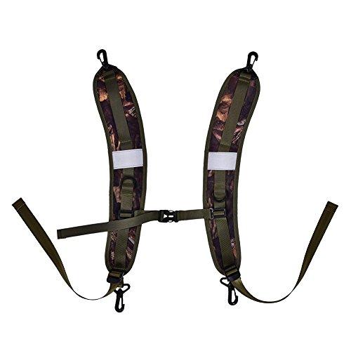 VGEBY 1 Paire Sac à Dos Bretelles Décompression Remplacement Sac à Dos Sangles Ceinture Confortable pour Le Camping Camping en Plein Air
