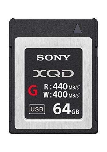 Sony Professional XQD G Series 64GB Memory Card (QDG64E/J) (2-Pack)