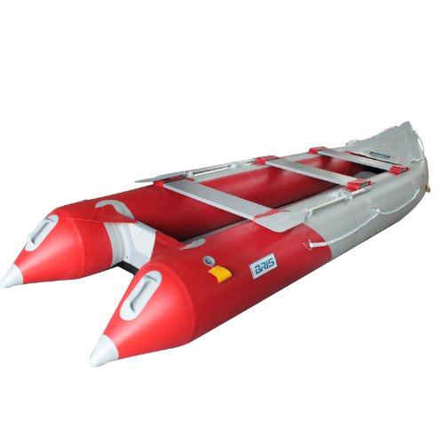 affodable BRIS 14.1 ft inflatable boat, fishing inflatable boat with inflatable bottom
