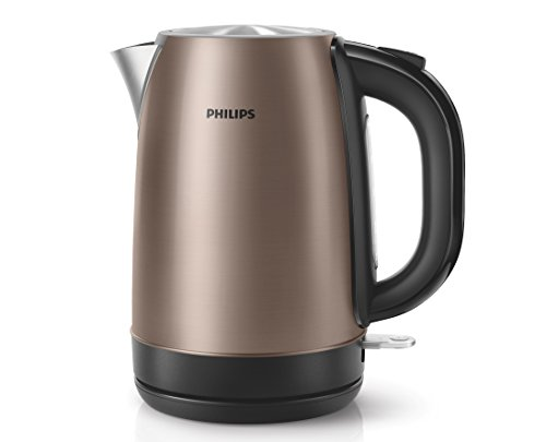 Philips HD9322/71 Wasserkocher (Viva Metal Copper, 1,7 L, 2200 W) bronze