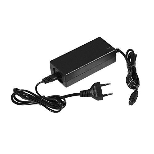 Cargador de batería de litio, 42 V, 2 A, fuente de alimentación para bicicleta eléctrica, para baterías de 36 V, batería de polímero de litio, patinete eléctrico, interfaz de equilibrio 3P (UE)