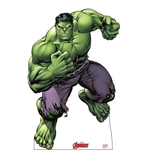 Advanced Graphics Hulk Life Size Cardboard Cutout Standup - Marvels Avengers Animated