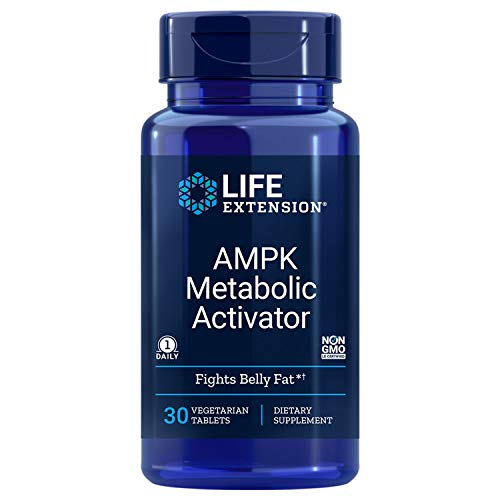 Life Extension AMPK Metabolic Activator, 30 Vegetarian Tablets (2 Pack)