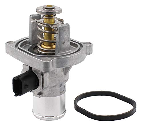 NewYall Engine Coolant Thermostat Housing Assembly w/Gasket
