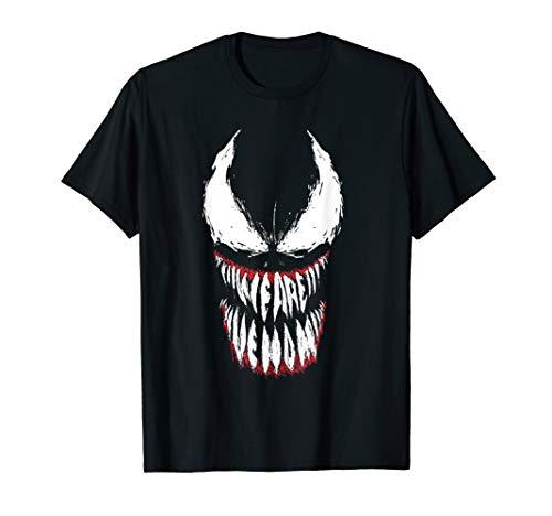 Marvel Venom Face Logo Grin T-Shirt
