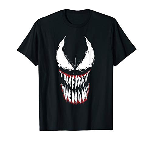 Marvel Venom Face Logo Grin T-Shirt