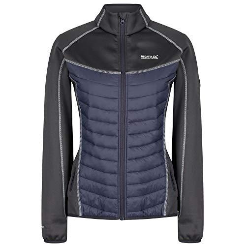 Regatta Damen Bestla Lightweight Water Repellent and Insulated Hybrid Down Jacke, Grau (Seal Grey/Rock Grey), 16