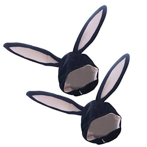 VALICLUD Disfraz de Cosplay de Conejito de Peluche Divertido Orejas de Conejo...