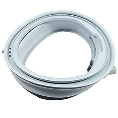 SPARES2GO Door Seal Gasket for Bosch WVG WVH2 Series Washing Machine