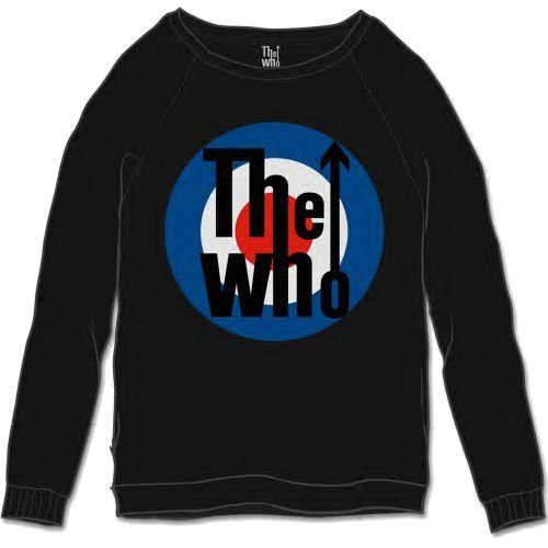 Générique The Who Target Classic Sweat-Shirt, Noir (Black Black), X-Large Homme