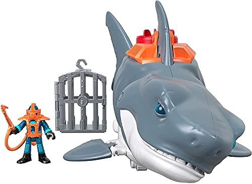 Imaginext - DC Super Friends Batman Tiburón Megamandíbulas Juguetes niños +3 años (Mattel GKG77)