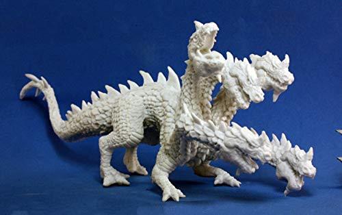 Pechetruite 1 x Hydra - Reaper Bones Miniatura para Juego de rol Guerra - 77191