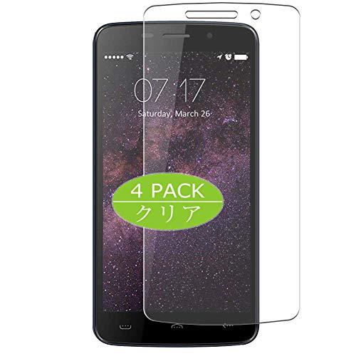 Vaxson 4 Stück Schutzfolie kompatibel mit HomTom HT7 Pro, Bildschirmschutzfolie Displayschutz Blasenfreies TPU Folie [Nicht Panzerglas]