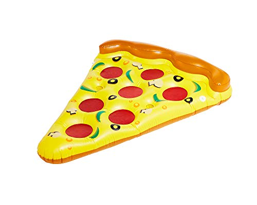 Didak Pool 15504506 Luftmatratze, Pizza 170x120 cm