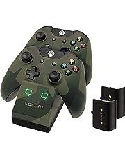 Venom - Estación de Acoplamiento para Xbox One (2 Paquetes de baterías Recargables para Xbox One)