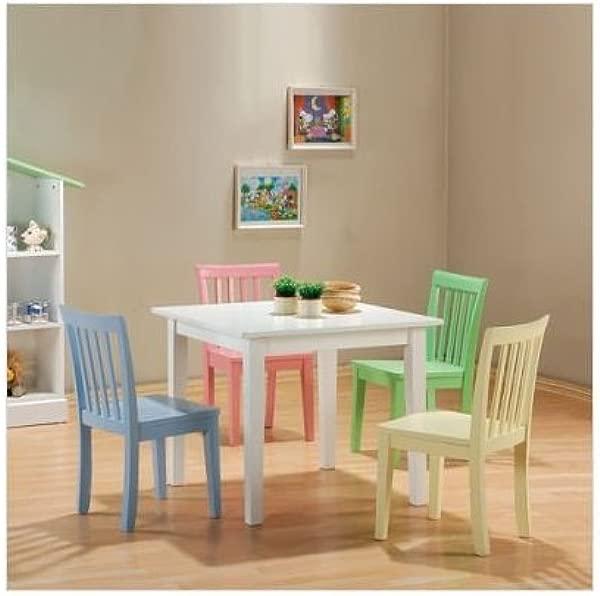 Fort Stevens Five Piece Table Set