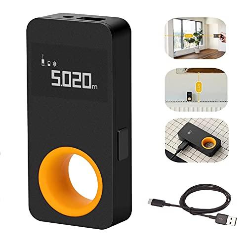 Medidor de Distancia láser Inteligente HOTO, medidor de Distancia láser Inteligente con Pantalla OLED de 0,96 Pulgadas, conectar con Mijia