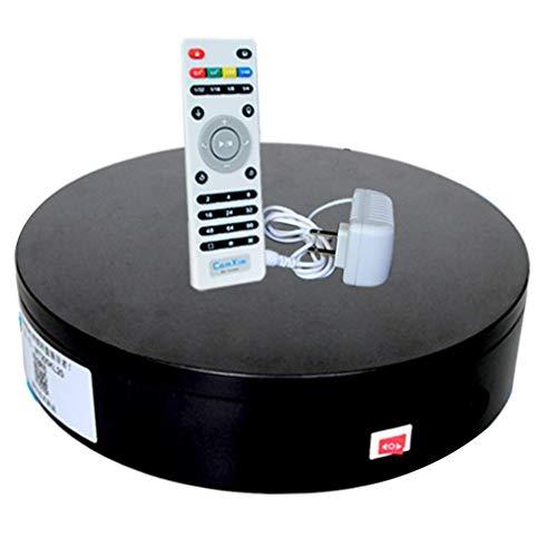 N / A Professioneller Elektrischer 360-Grad-Drehteller Für Die Fotografie, Automatische Drehplattform, Perfekt Für 360-Grad-Bilder Für Die Fotografie(Color:schwarz,Size:50 * 10cm)