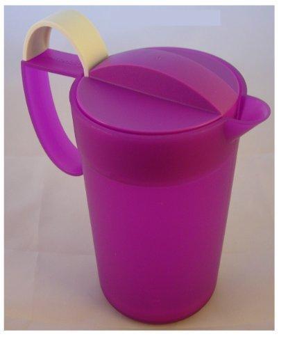 TUPPERWARE - C104 Crema Momenti 500 ml - Milchaufschäumer lila