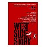Tiiiytu Vintage Film Poster West Side Story Leinwand Poster