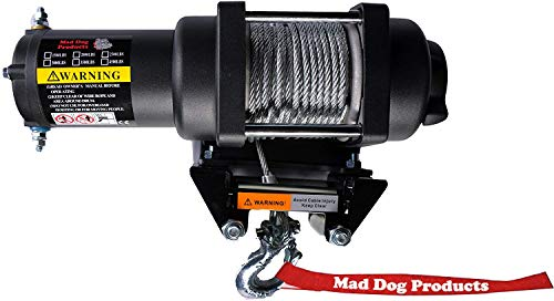 Mad Dog 3500 lb Winch Mount Combo Can-Am Outlander 570 650 800 850 MAX/XMR 6x6 '12-19