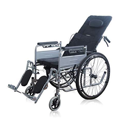 WZB - Wheelchair Klapp- und Sitzhöhe nach Rollstuhl-Halber Lage-Senior, Der Flachen Rollstuhl-Gehhilfen Liegt