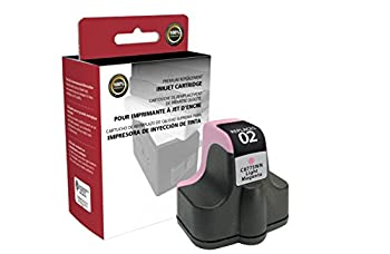 Inksters Remanufactured Ink Cartridge Replacement for HP 02 Light Magenta C8775WN  HP 02