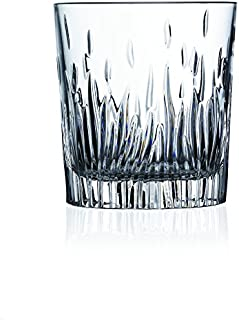 Lorren Home Trends 248480 RCR Fire Collection Crystal DOF Set, Clear