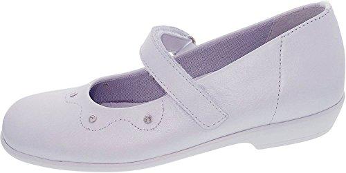 Däumling Kommunionschuhe, Festliche Schuhe, Ballerinas, astrale weiß, Gr. schmal 35
