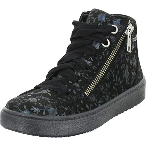 Superfit Mädchen Heaven Gore-Tex Hohe Sneaker, (Schwarz 00), 25 EU