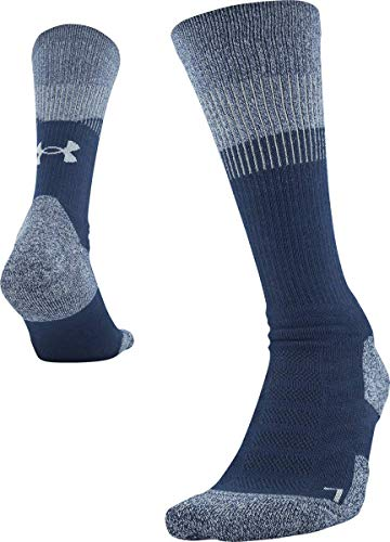 Under Armour Herren Unrivaled 3.0 Crew Socken, 1 Paar Socken, Herren, Socken, U064, Academy Blue, 4-8