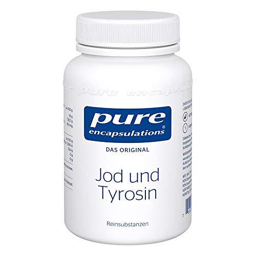 pure encapsulations Jod und Tyrosin Kapseln, 60 St. Kapseln