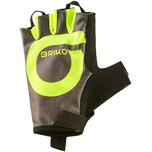 Briko GRANFONDO Glove, Guanti Uomo, 904 Fango Marrone, L