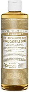 ドクターブロナー マジックソープ サンダルウッド&ジャスミン 472ml ドクターブロナー DR.BRONNER'S
