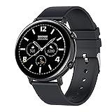 ZGZYL GW33 Moda De Moda Reloj Inteligente con Llamada Bluetooth, Rastreador De Fitness con Presión Arterial ECG Monitoreo De Frecuencia Cardíaca IP68 Reloj Deportivo A Prueba De Agua,C