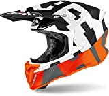 AIROH HELMET TWIST 2.0 FRAME ORANGE MATT M