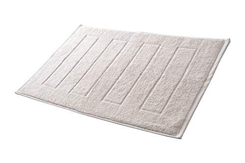 Hometex Premium Textiles Badvorleger Duschvorleger 50 x 70 cm | 100% Baumwolle...
