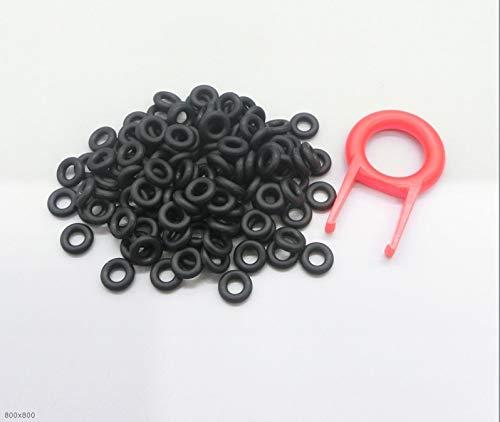 F-MINGNIAN-SPRING 110 stks Keycaps O Ring Seal Schakelaar Geluiddempers Voor Kers MX Toetsenbord Damper Vervanging Geluidsreductie Toetsenbord O-ring Seal