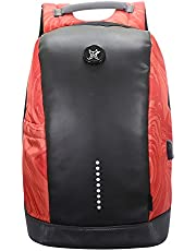 Arctic Fox Slope Anti Theft Backpack with USB Charging Port 15 Inch Laptop Backpack (Black)