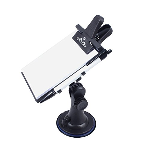 Auto Memo Pad / Notizblöcke, Clip Board mit Stift, Papierhalter (Universal Saug, Flexible, Mehrzweck)