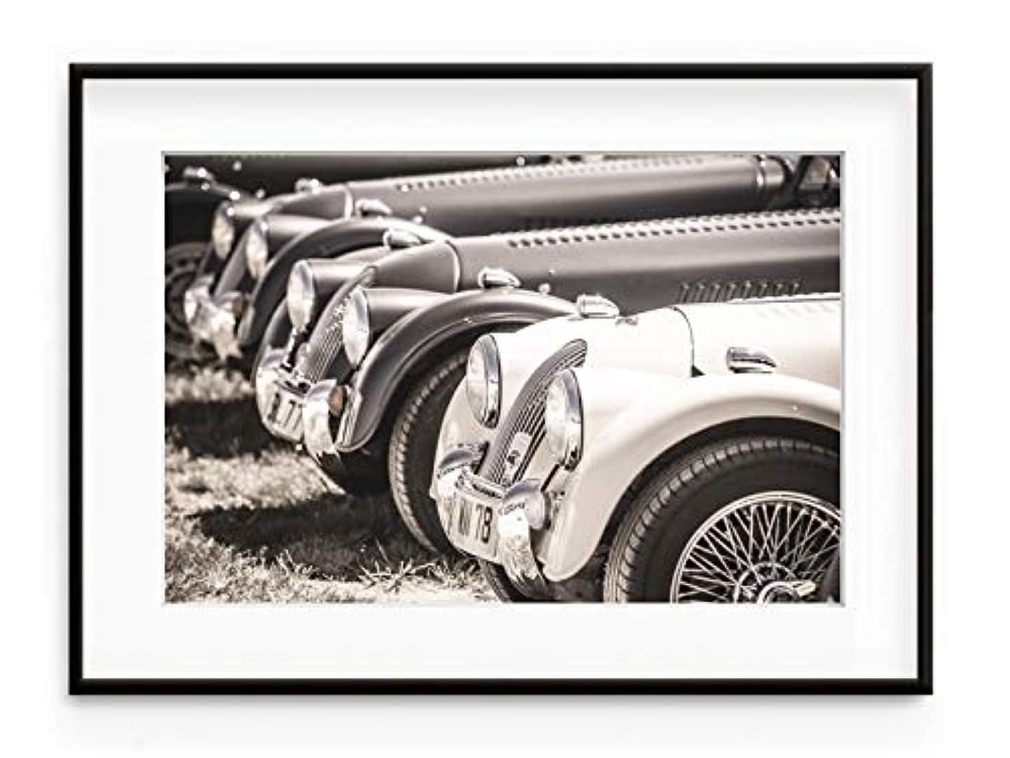 Morgan, Aluminium Frame, Full Format, Multicolored, 40x50