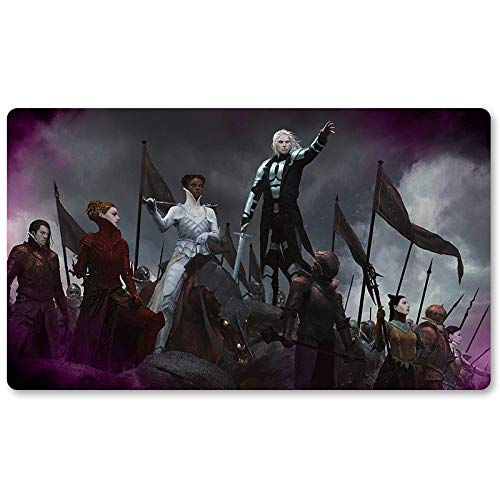 Campaign of Vengeance - Brettspiel MTG Spielmatte Tischmatte Spielmatte Spielmatte Größe 60x35 cm Mousepad Spielmatte für Yugioh Pokemon Magic The Gathering