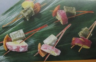 三色揚げ 松葉 柿 20串 ( 串約10g ) 冷凍 揚物 業務用