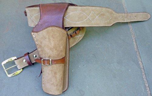 Clint Eastwood Holster Rig - Premium Cowboy Western Gun Belt...