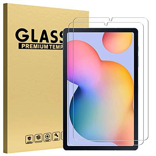 """GOZOPO - Pellicola proteggi schermo per Samsung Galaxy Tab S6 Lite 10.4"""" SM-P610/P615 [2.5D da bordo a bordo] Samsung Tab S6 Lite 10.4 pellicola in vetro temperato [resistente ai graffi]"""