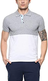 AMERICAN CREW Men's Polo Color Block T-Shirt