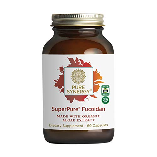 Pure Synergy SuperPure Fucoidan Extract | 60 Capsules | Made with Organic Ingredients | Non-GMO | Vegan | Seaweed Extract | Supports a Healthy Immune System