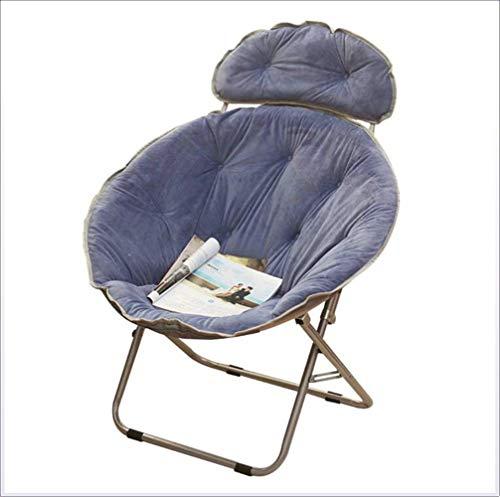 XHLLX Lazy Chair Radar Stuhl Mittagspause Stuhl Liegestuhl Lehner Sun Stuhl Moon Chair Schlummern Sofa, Stuhl, Einfache Klappstuhl,D